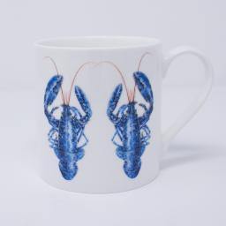 Mug with lobster design