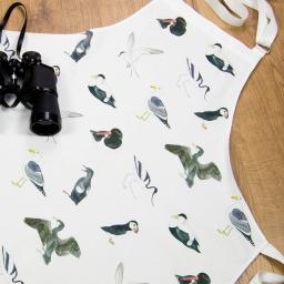 Apron - bird design - sea birds