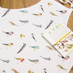 Apron - bird design - garden birds