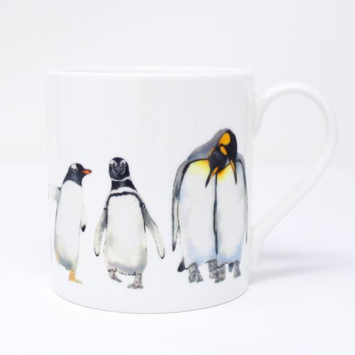 Penguin parade Espresso & Quite Big mug