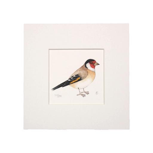 Goldfinch Mini Print