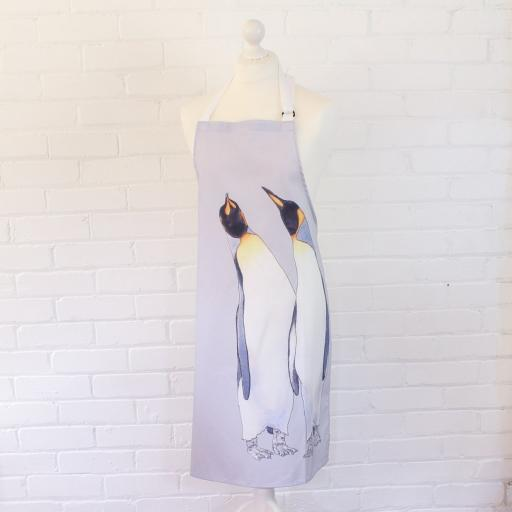 Apron - King penguins