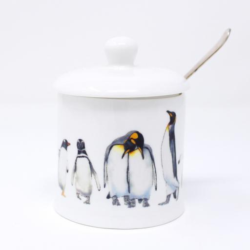 Penguin parade Jam Pot