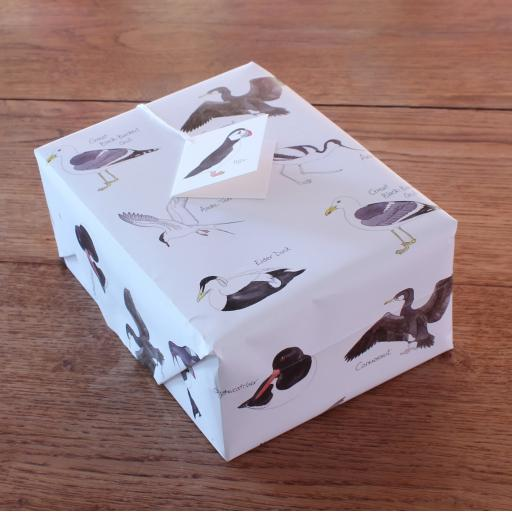 Sea Birds Gift Wrap