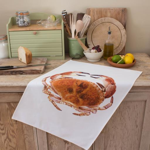 Tea Towel - Crab
