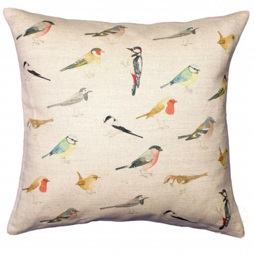 Cushion - Garden Birds