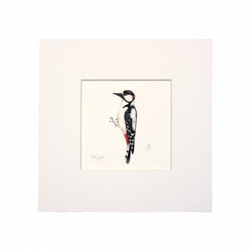 Woodpecker Mini Print