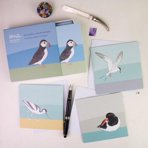 Sea Birds Notelet Set