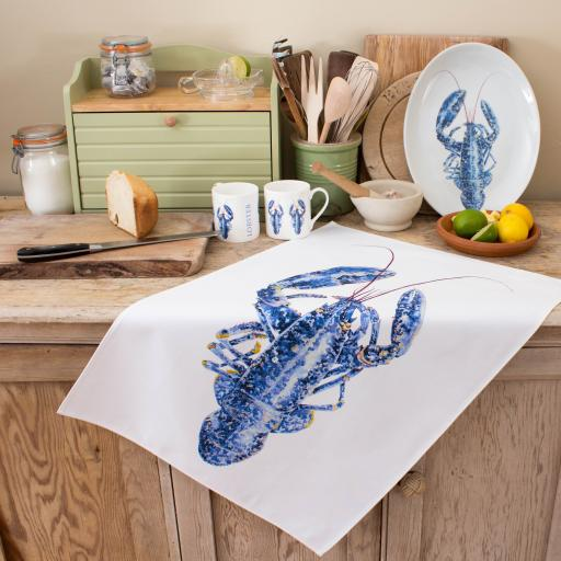 Tea Towel - Lobster