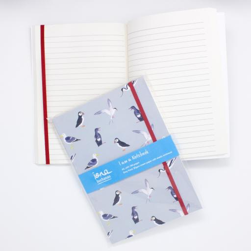 Sea birds notebook