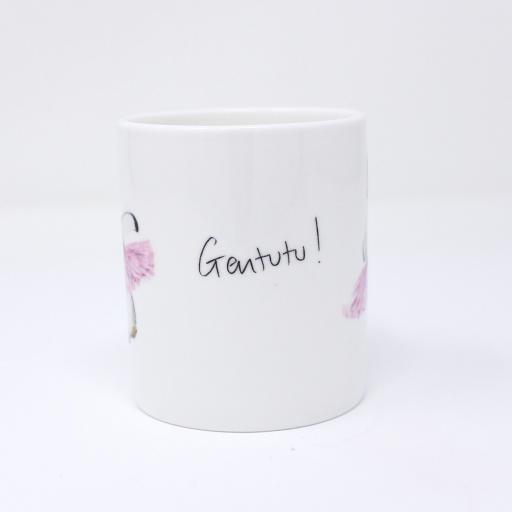'Gentutu' double espresso mug