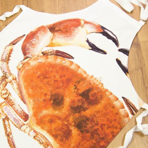 Apron - crab design