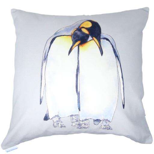 King penguin cushion