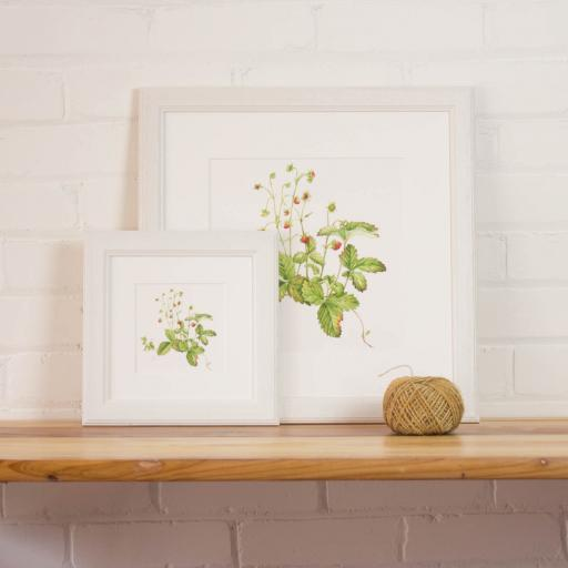 Wild Strawberries Print