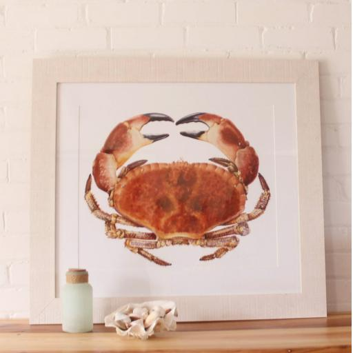 large crab framed.jpg