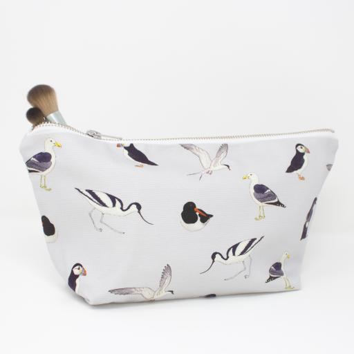 Sea Birds wash bag