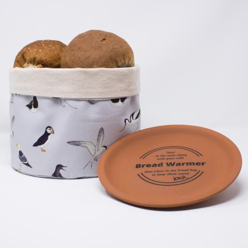 Bread warmer - Sea Birds pattern