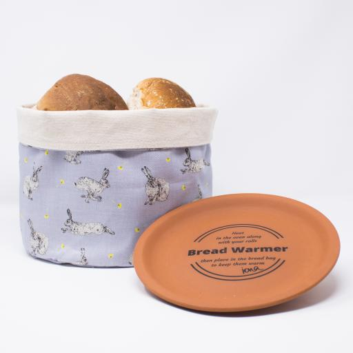 Bread warmer - Hare & Dandelion pattern