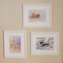otter, lab, dachs framed.jpg