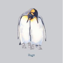 Hugs penguin card front.jpg