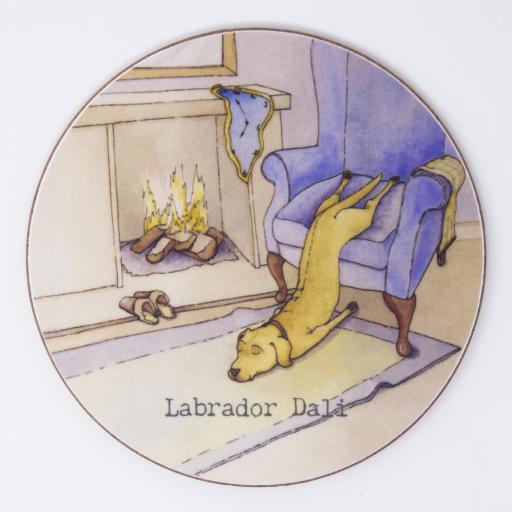 Labrador dali